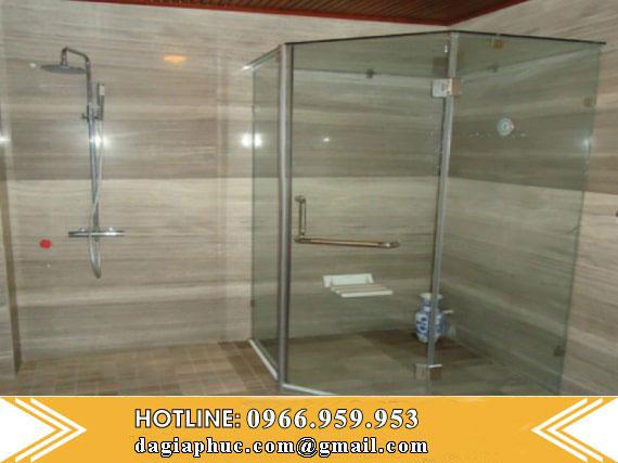 Phòng Tắm Ốp Đá Marble Vân Gỗ