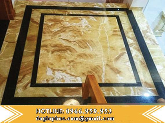 Sàn Nhà Đá Tự Nhiên Cao Cấp Vàng Onyx